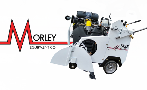 Morley M35 35HP Gas Saw