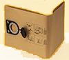 CS Unitec Paper Filter Bags 5Pack  CS 1225/ 1445