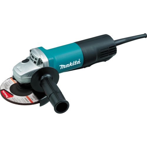 Makita 9558PB 5 Paddle Switch Angle Grinder, with AC/DC Switch