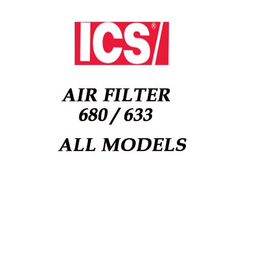 Air Filter Model 680 All models 633 All Models