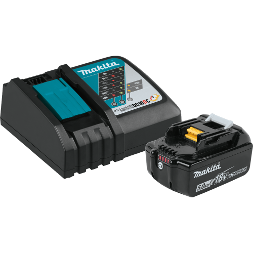 BL1850BDC1 18V LXT® Lithium‑Ion Battery and Charger Starter Pack (5.0Ah)