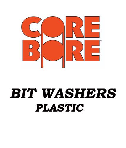 Bit Washers Plastic & Copper