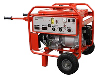 Multiquip GA6HR Generator  6kW  HP 9.5 Honda GX340