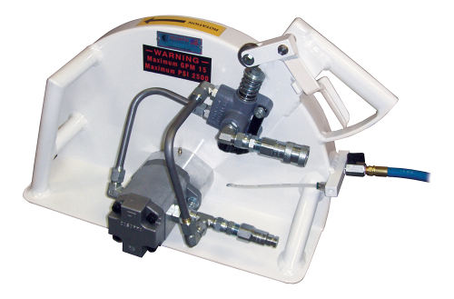 Core Cut HS Series -  Hydraulic Saws Standard Guard 16 -24
