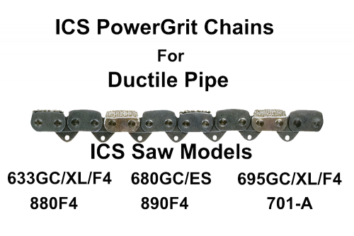 ICS PowerGrit Chain 10