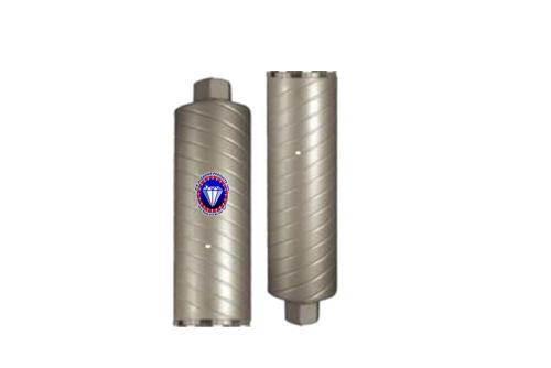 #SW  Turbo Swirl Style Core Bit for Concrete 1 - 14 Diameter 14 Tube Length