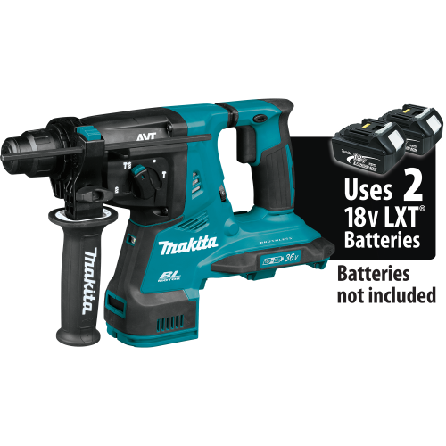 Makita 	XRH08Z 18V X2 LXT® Lithium‑Ion (36V) Brushless Cordless 1‑1/8 AVT® Rotary Hammer, accepts SDS‑PLUS bits, Tool Only