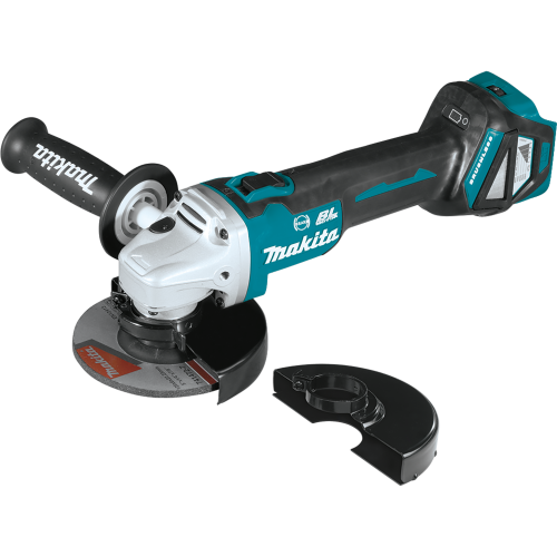 """Makita XAG16Z 18V LXT® Lithium‑Ion Brushless Cordless 4‑1/2"""" / 5 Cut‑Off/Angle Grinder, with Electric Brake, Tool Only"""