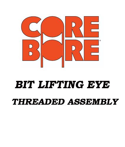 Bit Lifting Eye Threaded Assembly 2 sizes