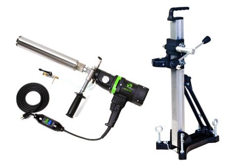 Eibenstock END 130/3.1 Core Drill 3-Speed w/ Anchor Stand
