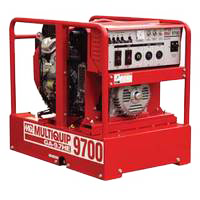 Multiquip GA97HEA Generator 9.7kW 16.6 HP Honda GX630 w/ Electric Start