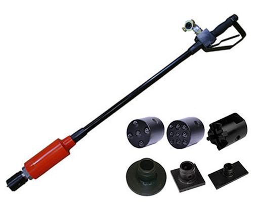 CS Unitec Pneumatic Pole Scabbler/Pole Tamper - LPS55