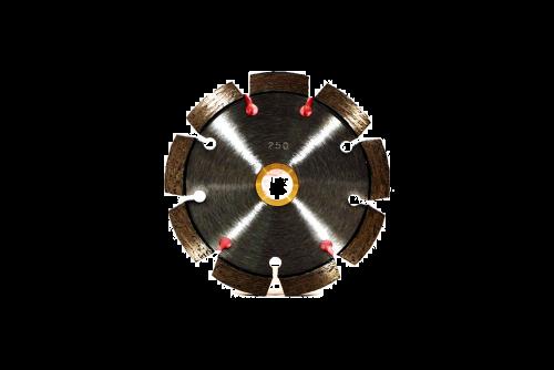 # 250 Supreme Tuckpointing Blades , 1/4 Jumbo  Wide Segments 4 - 8