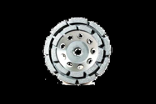 #930 Premium  Cup Wheel, Double Row Dry Cut 4 - 7