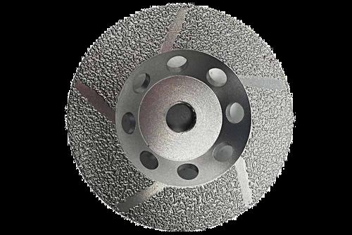 # 680 Diamond Profile Wheels, Wet Cut 6 - 10 - 3/8 or 1/2 width