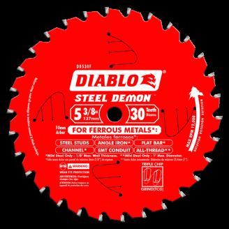 DIABLO - STEEL DEMON Medium Metal  5 3/8 - 7 1/4