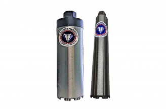 #LWT Pro Series Laser Welded Core Bit for Concrete -Turbo Segment 1 - 16 Diameter /  14 Tube Length