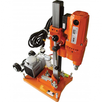 Core Bore  M1AA Complete Rig with Vac Base and Vac Pump 6 Bit Capacity