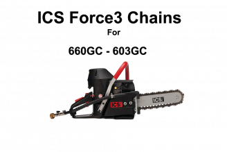 ICS Force 3 Series Chains 10 for 660GC & 603GC