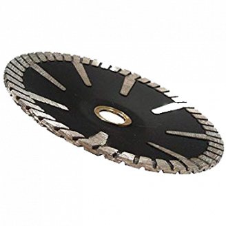 #850 Concave Turbo Continuous Rim General Purpose Blade 4-7
