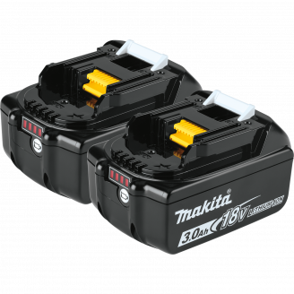 BL1830B-2 18V LXT® Lithium‑Ion 3.0Ah Battery, 2/pk