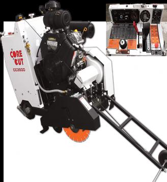 Core Cut CC3500 JACKSHAFT Saw - Gas 14 - 30