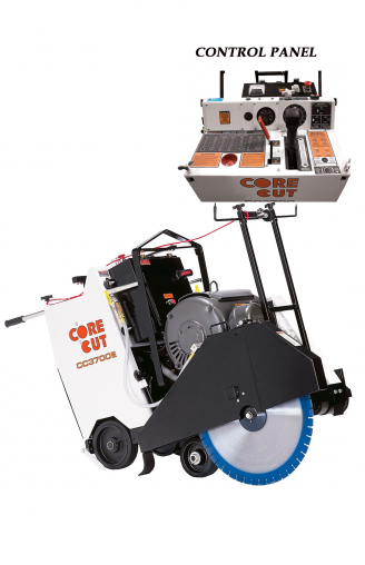 Core Cut CC3700E ELECTRIC WALK BEHIND SAW 14 - 42