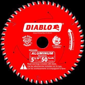 Diablo Medium Aluminum Cutting Saw Blade 5 3/8 - 12