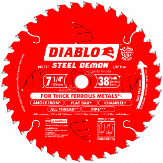DIABLO - STEEL DEMON 7‑1/4 in.Thick Metal Cutting Saw Blade