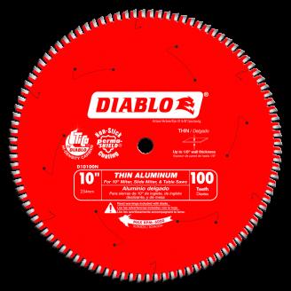 Diablo Thin Aluminum Cutting Saw Blade 10 - 14