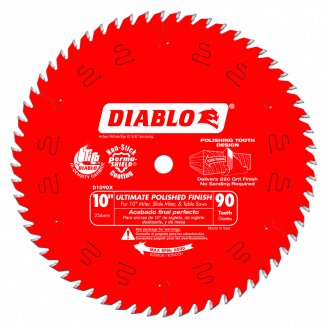 Ultimate Polished Finish Saw Blade 10 &12