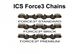 ICS Force3 Series Chains 10 - 16 (replaces TwinMax)
