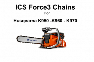 Force 3 Chains 12-16 fit Husqvarna Concrete Chainsaws