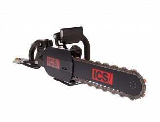 ICS Hydraulic Chain Saw 890F4-Flush Cut  Power Head