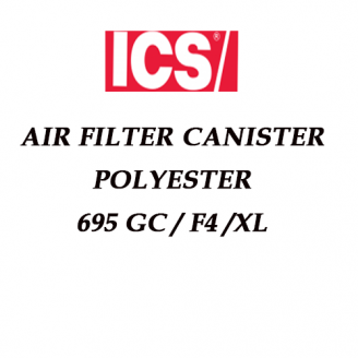 ICS Air Filter Canister Polyester 695XL-GC-F4