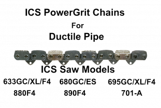 ICS PowerGrit Chain 10