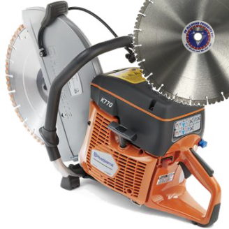 Husqvarna K770   Saw Packages with 1 or 10 Blades