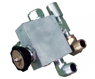 Mounted Flow Control Valve-Char-Lynn Hydraulic Motor Motor