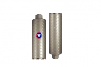 #SW  Turbo Swirl Style Core Bit for Concrete 1 - 14 Diameter 14 Tube Length
