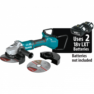 Makita 	XAG22ZU1 18V X2 LXT® Lithium‑Ion (36V) Brushless Cordless 7 Paddle Switch Cut‑Off/Angle Grinder, with Electric Brake and AWS™, Tool Only