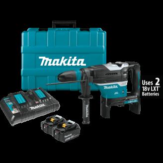 Makita XRH07PTU 18V X2 LXT® Lithium‑Ion (36V) Brushless Cordless 1‑9/16 Advanced AVT® Rotary Hammer Kit, accepts SDS‑MAX bits, AWS™ (5.0Ah)