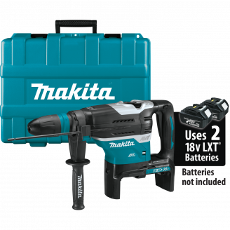 Makita XRH07ZKU 18V X2 LXT® Lithium‑Ion (36V) Brushless Cordless 1‑9/16 Advanced AVT® Rotary Hammer, accepts SDS‑MAX bits, AWS™, Tool Only