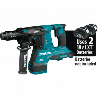 Makita XRH11Z  X2 LXT® Lithium‑Ion (36V) Brushless Cordless 1‑1/8 AVT® Rotary Hammer, accepts SDS‑PLUS bits, AFT®, AWS™ Capable, Tool Only