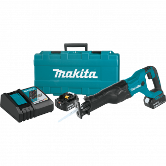 Makita XRJ04T 18V LXT® Lithium‑Ion Cordless Recipro Saw Kit (5.0Ah)