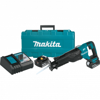 Makita XRJ05T 18V LXT® Lithium‑Ion Brushless Cordless Recipro Saw Kit (5.0Ah)