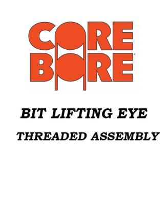 Bit Lifting Eye Threaded Assembly 2 sizes