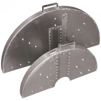 Two -Piece Blade Guard without Water Tubes 2 Wide 24-66