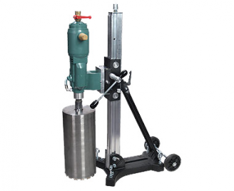 CS Unitec  12 PNEUMATIC CORE DRILLING MACHINE - 3-SPEED, 3.8 HP MOTOR - RIG MOUNTED