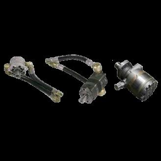 Mounted Hydraulic Drill Motors Danfoss Char-Lynn White
