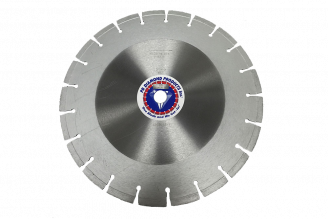 "# 335 Pro Cured Concrete Diamond Blades, Jumbo Wet Cut 12""-60"" (20 - 75HP)"